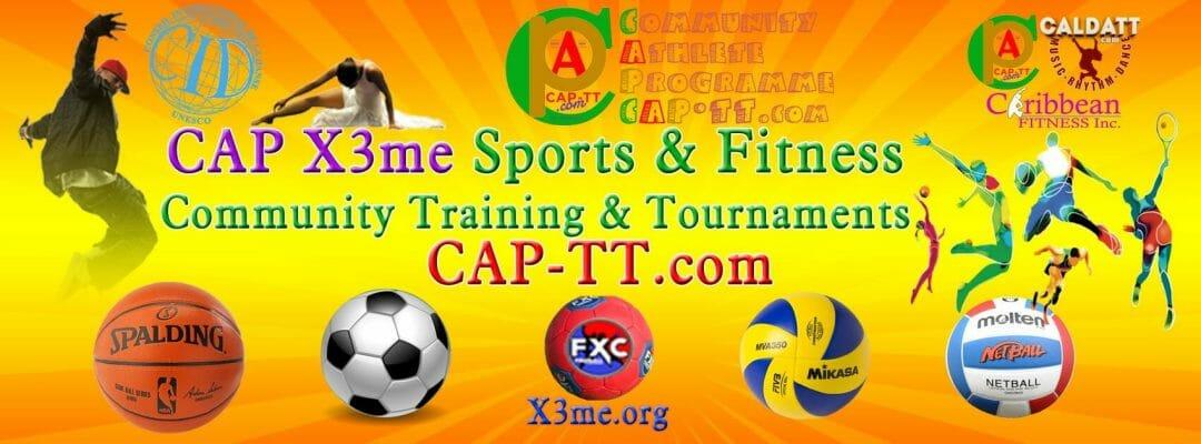 CAP X3me - Community Sports & Fitness Training Tournaments - Community Athlete Programme (CAP)